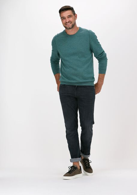 Grüne VANGUARD Pullover R-NECK COTTON SLUB - large