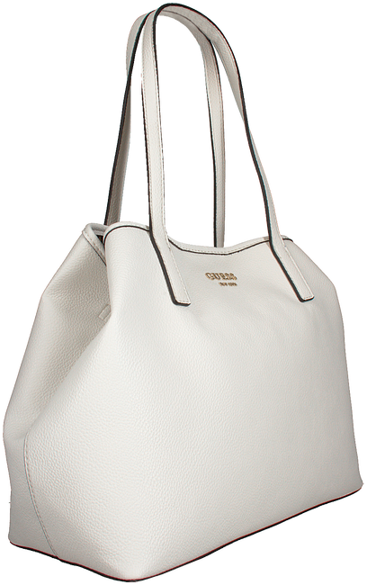 Weiße GUESS Handtasche VIKKY TOTE  - large