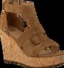 cognac UGG shoe WHITNEY  - small