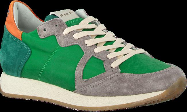 Grüne PHILIPPE MODEL Sneaker MONACO VINTAGE  - large