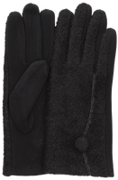 Schwarze Yehwang Handschuhe THE DOT  - medium
