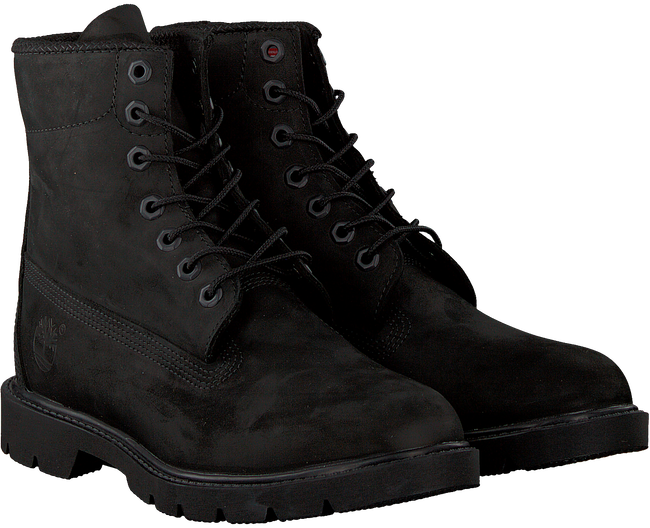 Schwarze TIMBERLAND Schnürboots 6 IN BASIC BOOT NONCONTRAST  - large
