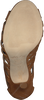 Cognacfarbene UNISA Sandalen YANDEO - small