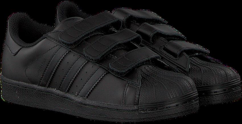 Schwarze ADIDAS Sneaker SUPERSTAR FOUNDATION - larger