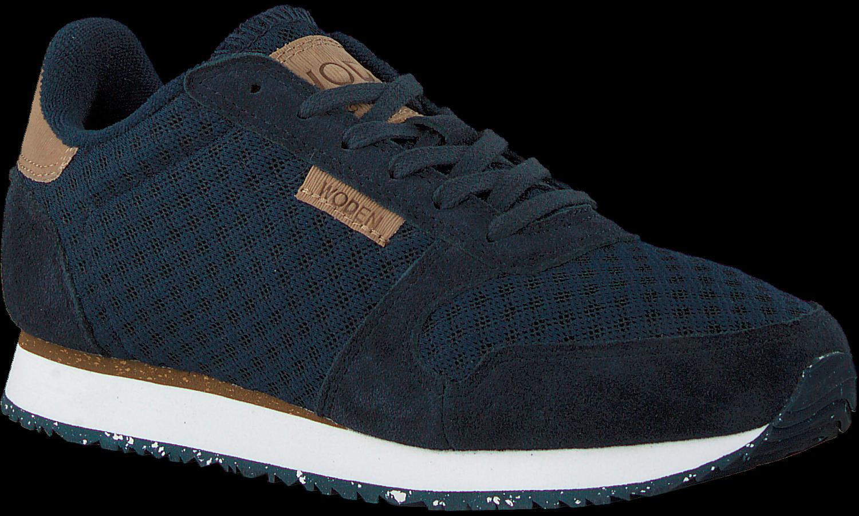 Blaue WODEN Sneaker YDUN SUEDE MESH | Omoda