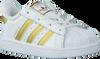 Weiße ADIDAS Sneaker SUPERSTAR KIDS 1 - small