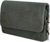 Grüne BY LOULOU Clutch LOVELY LEOPARD - small