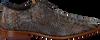 Braune REHAB Business Schuhe GREG SNAKE FANTASY - small