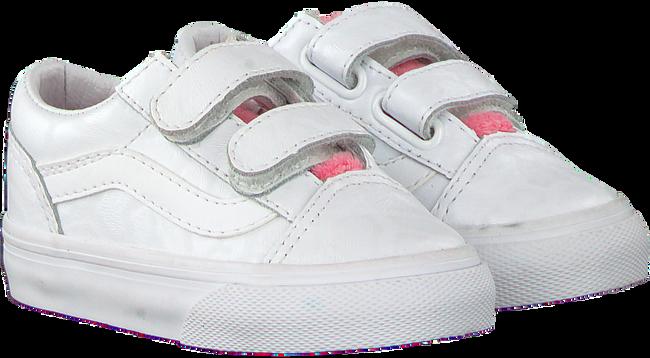 Weiße VANS Sneaker TD OLD SKOOL V WHITE GIRA  - large