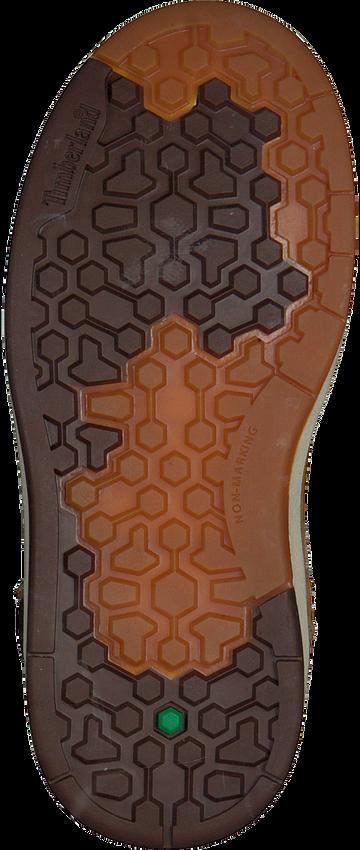 Camelfarbene TIMBERLAND Ankle Boots DAVIS SQUARE 6 KIDS - larger