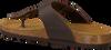 Cognacfarbene MAZZELTOV. Pantolette 19-0007  - small
