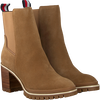 Taupe TOMMY HILFIGER Stiefeletten SPORTY MID HEEL  - small