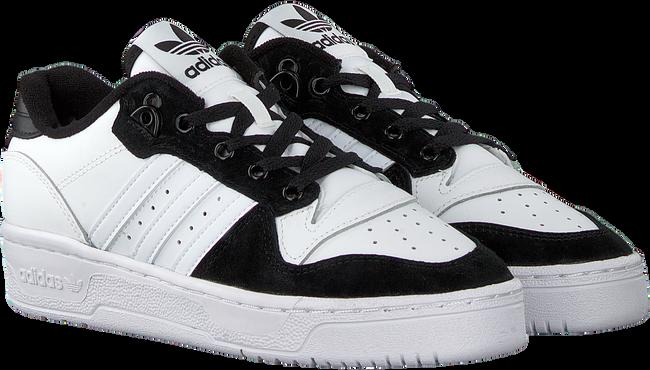 Weiße ADIDAS Sneaker low RIVALRY LOW J  - large