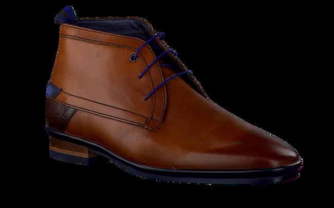 Cognacfarbene FLORIS VAN BOMMEL Business Schuhe 10334 - large