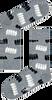 Mehrfarbige/Bunte HAPPY SOCKS Socken GIFT PACK - small