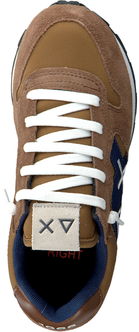 Braune SUN68 Sneaker low BOYS JAKI SOLID PATCH  - large