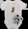 Weiße SHOESME Babyschuhe ROMPER - small