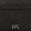 Schwarze MICHAEL KORS Portemonnaie ZA COIN CARD CASE  - small