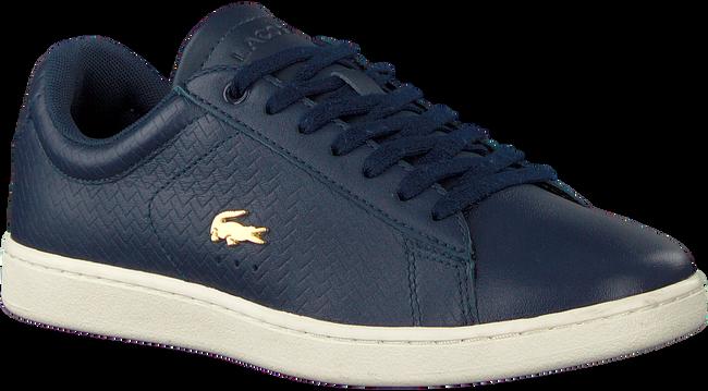 Blaue LACOSTE Sneaker CARNABY EVO DAMES  - large