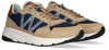 Beige WOOLRICH Sneaker high TRAIL RUNNER MAN CAMOSCIO  - small