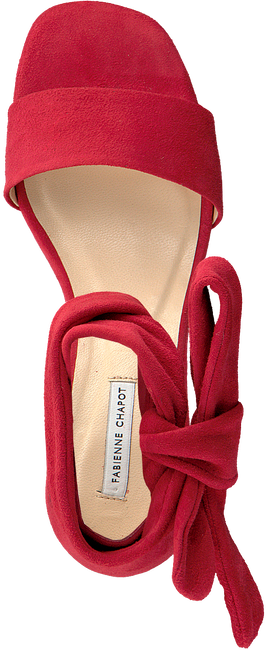 Rote FABIENNE CHAPOT Sandalen SHS-16-PMP-SS19 SELENE HEELED  - large