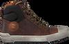 Cognacfarbene DEVELAB Sneaker high 41885  - small