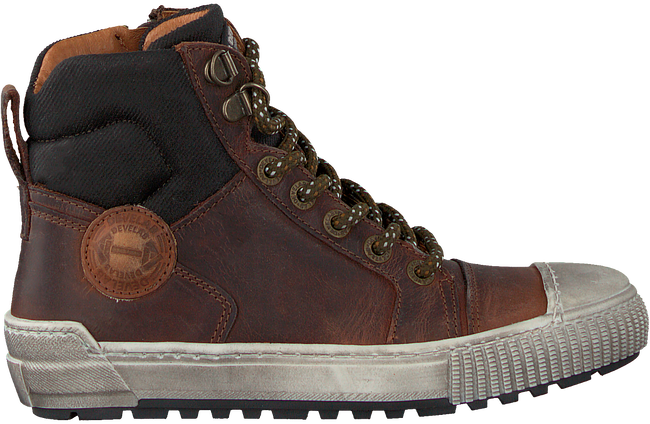 Cognacfarbene DEVELAB Sneaker high 41885  - large
