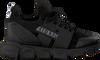 Schwarze RED-RAG Sneaker low 13257  - small