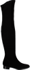 Schwarze RAPISARDI Overknees 2046 UMA - small
