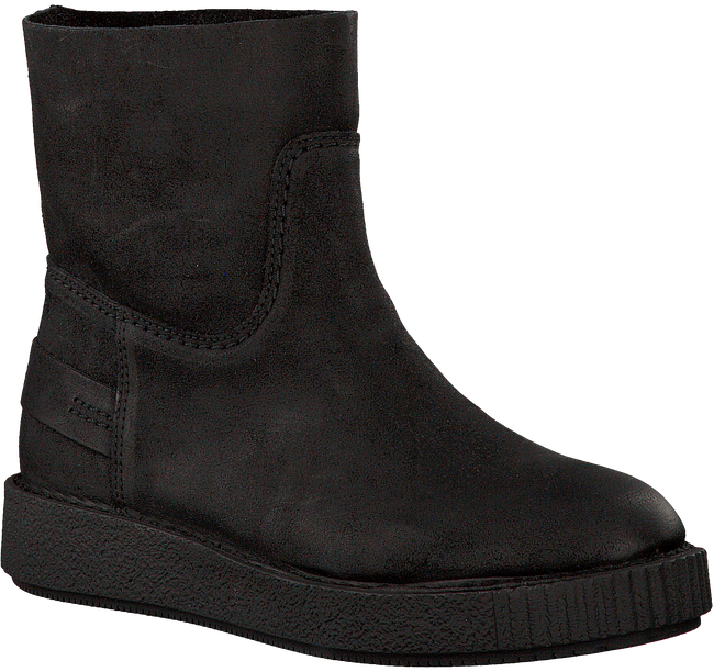 Schwarze SHABBIES Ankle Boots 181020029 - large