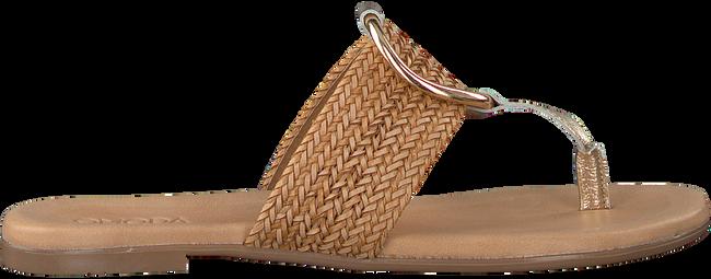 Goldfarbene OMODA Pantolette 17981  - large