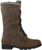Braune SOREL Ankle Boots EMILIE LACE - small