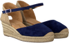 Blaue UNISA Espadrilles CISCA - small
