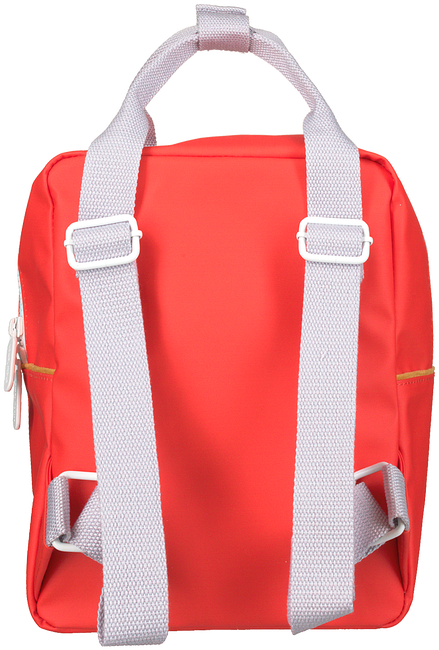 Rote STICKY LEMON Rucksack BACKPACK CORDUROY SMALL  - large