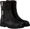 Schwarze SHABBIES Ankle Boots 191020017 - small
