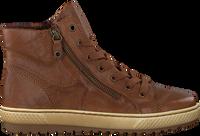 Cognacfarbene GABOR Sneaker 754  - medium