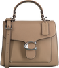 Taupe COACH Umhängetasche TABBY TOP HANDLE 20  - small