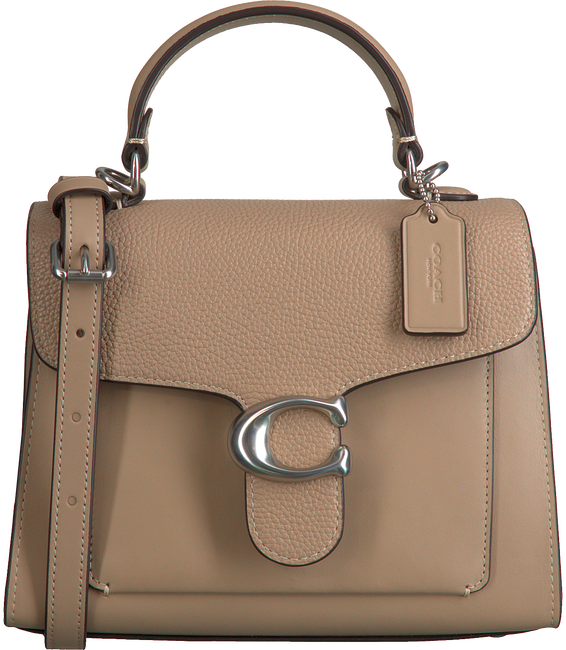 Taupe COACH Umhängetasche TABBY TOP HANDLE 20  - large