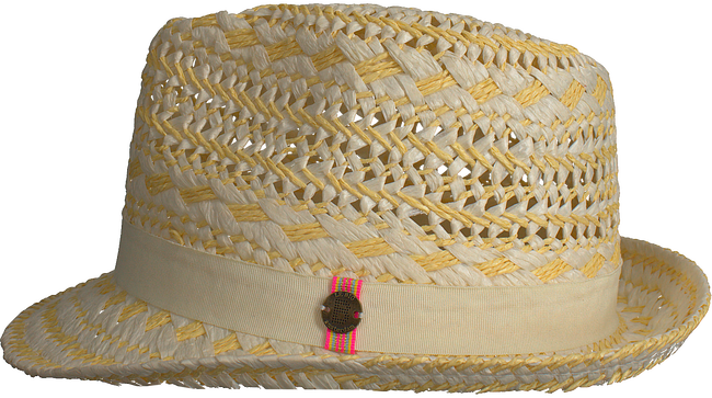 Beige LE BIG Hut NEDA HAT  - large