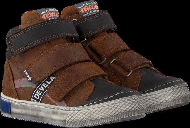 Cognacfarbene DEVELAB Sneaker high 41785  - large