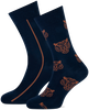 Blaue MARCMARCS Socken ERIC COTTON 2-PACK - small