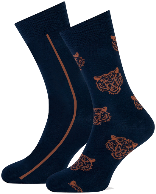Blaue MARCMARCS Socken ERIC COTTON 2-PACK - large
