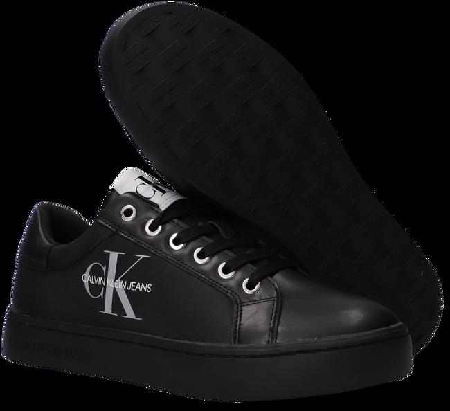 Schwarze CALVIN KLEIN Sneaker low CUPSOLE SNEAKER LACEUP  - large
