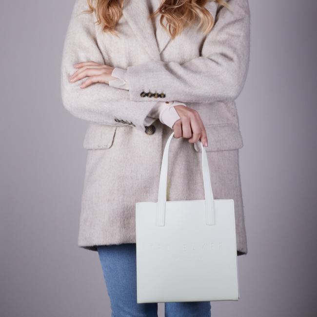 Weiße TED BAKER Handtasche FLOOCON  - large