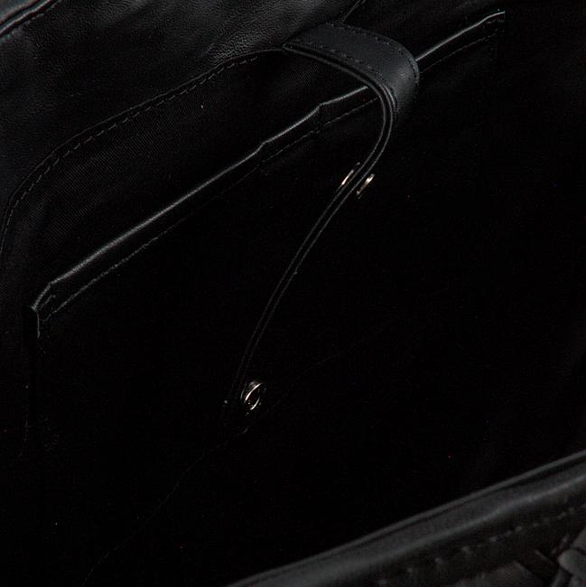 Schwarze DEPECHE Handtasche 14532  - large