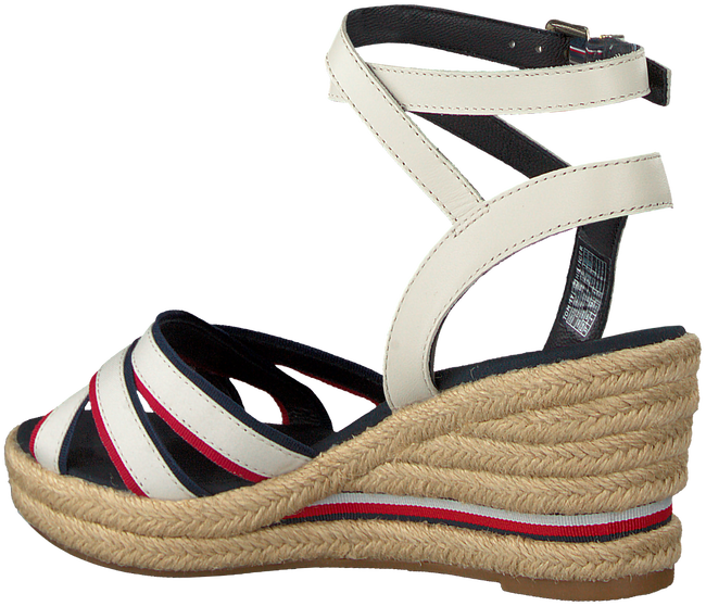 Weiße TOMMY HILFIGER Sandalen ICONIC ELBA CORPORATE  - large
