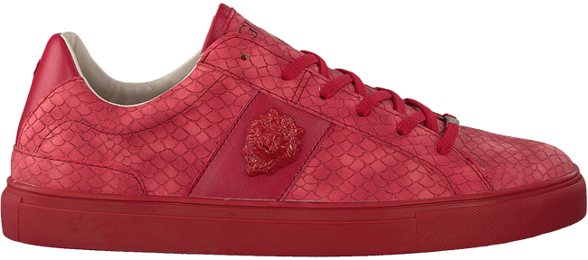 Rote GUESS Sneaker LUISS B PRINTED ECO LEATHER  - large