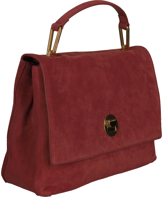 Rote COCCINELLE Handtasche LIYA SUEDE  - large
