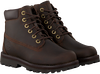Braune TIMBERLAND Schnürboots COURMA KID TRADITIONAL 6  - small