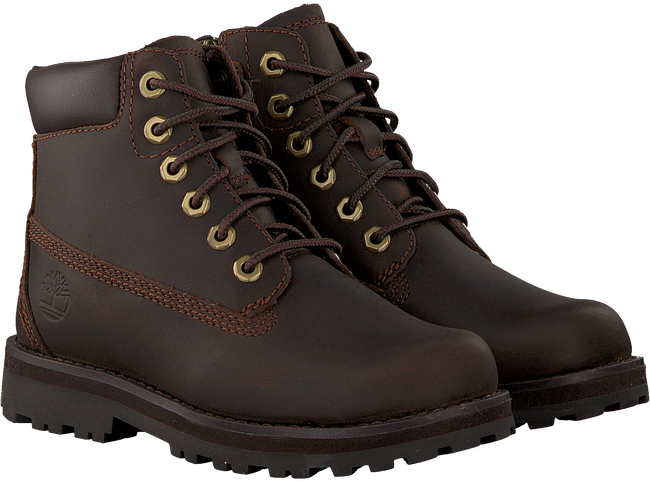 Braune TIMBERLAND Schnürboots COURMA KID TRADITIONAL 6  - large